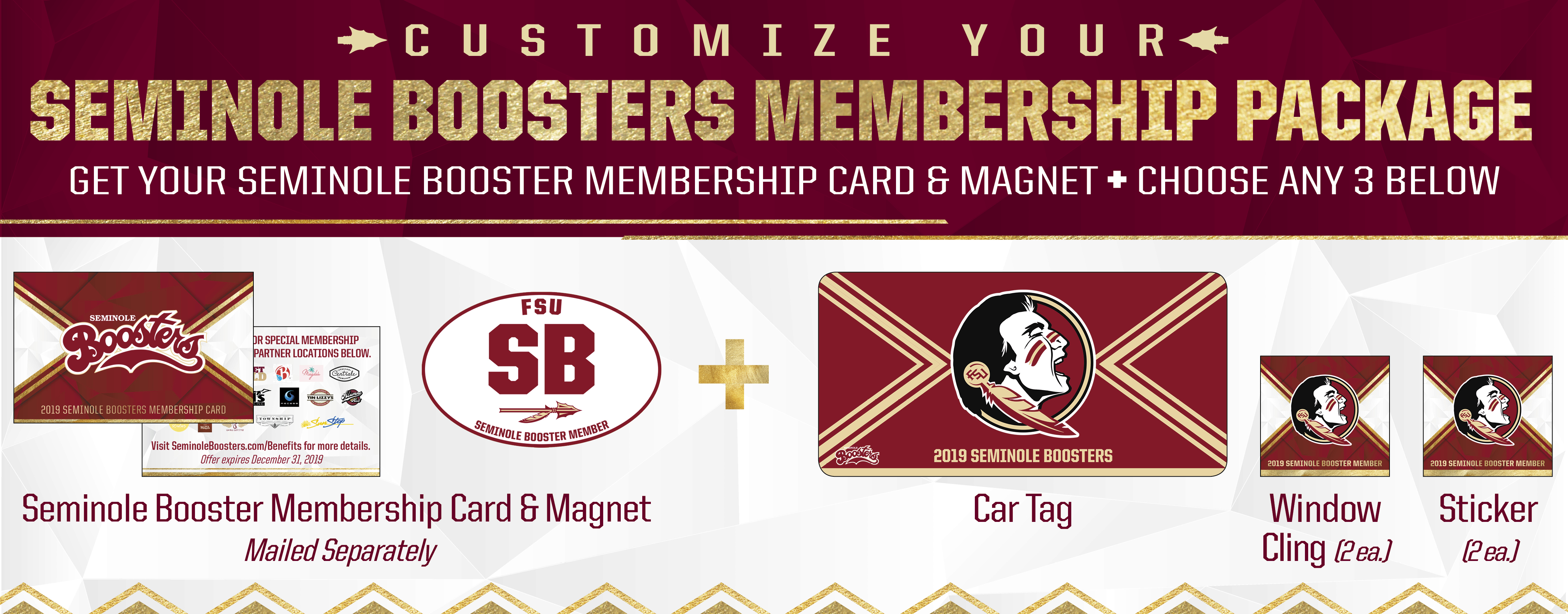 Florida State Booster Gifts