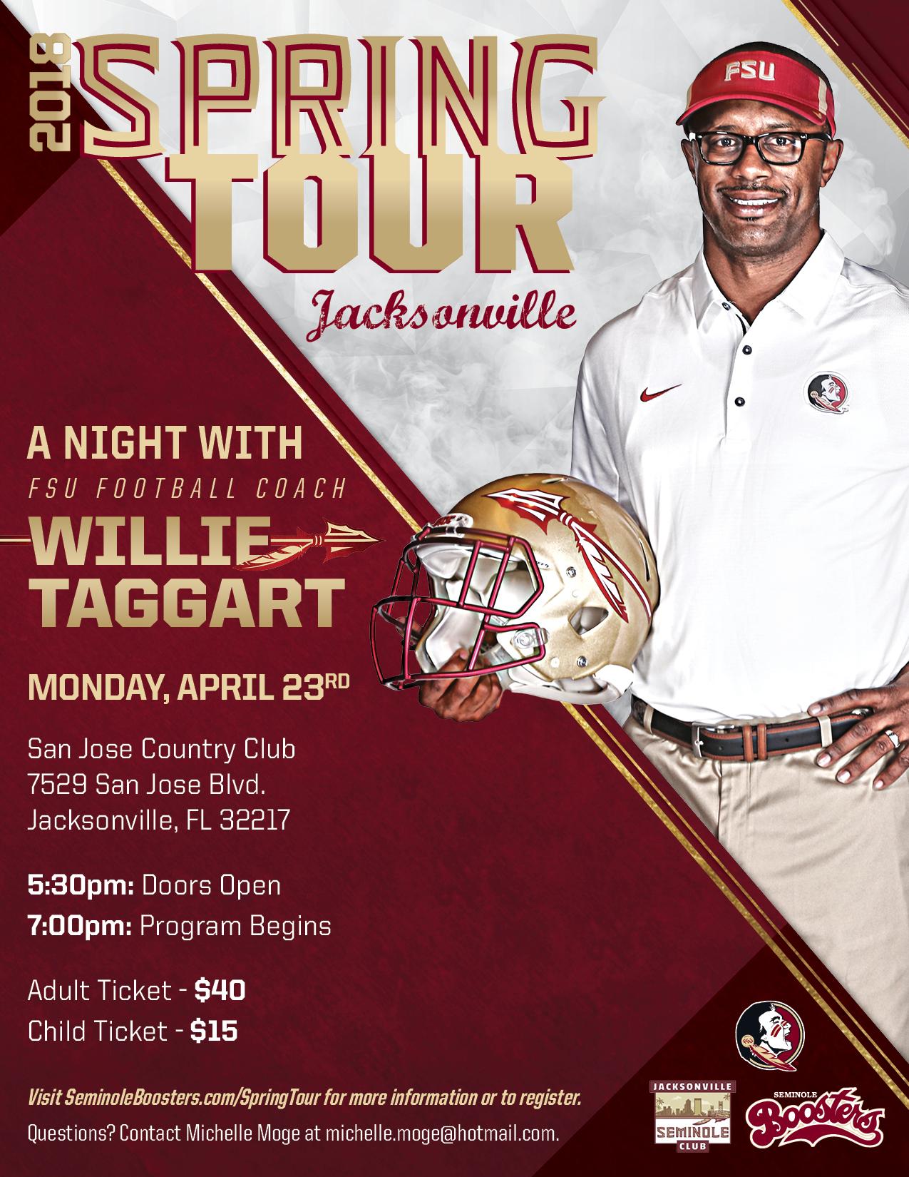Jacksonville Spring Tour Stop