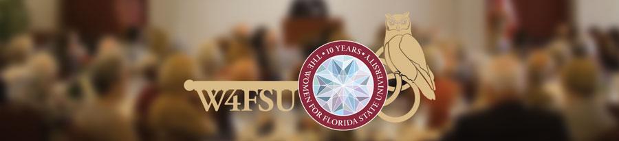 W4FSU 10th Anniversary Owl and Key Logo